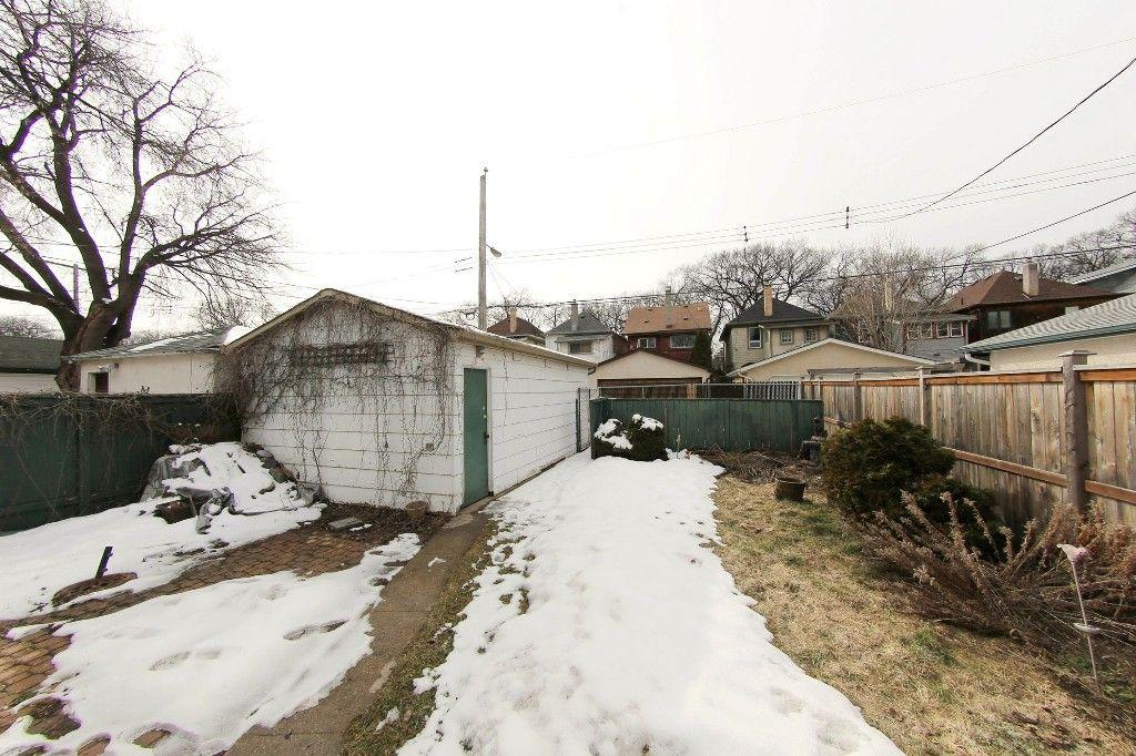 Photo 31: Photos: 492 Sprague Street in Winnipeg: WOLSELEY Single Family Detached for sale (West Winnipeg)  : MLS®# 1607076