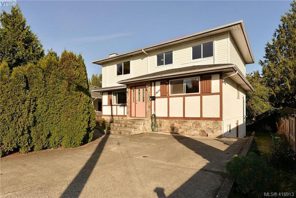 Main Photo: 3675 McIvor Ave in VICTORIA: SE Cedar Hill House for sale (Saanich East)  : MLS®# 827115