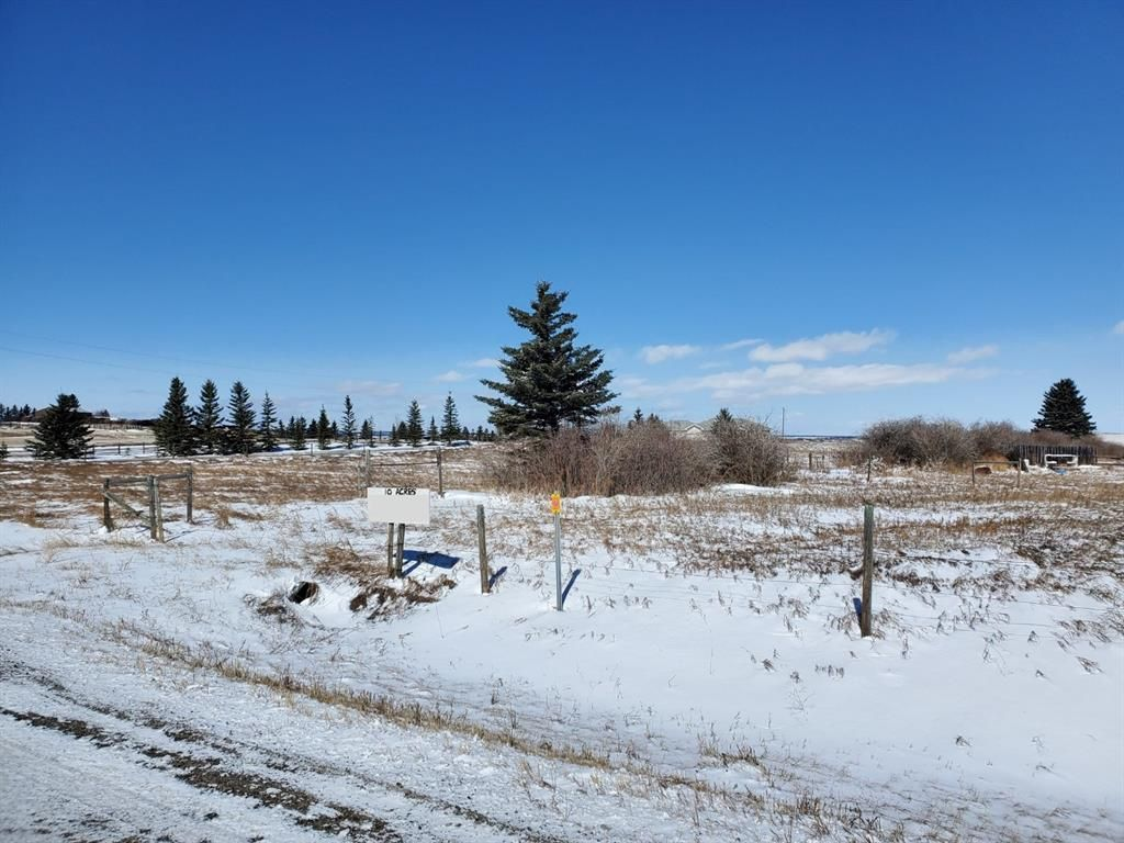 Main Photo: 40062 big hill Road: Cochrane Residential Land for sale : MLS®# A1090140