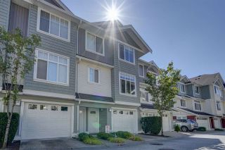 """Photo 1: 50 19480 66 Avenue in Surrey: Clayton Townhouse for sale in """"TWO BLUE II"""" (Cloverdale)  : MLS®# R2490979"""
