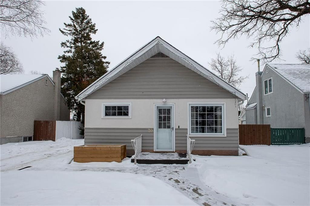 Main Photo: 70 Handyside Avenue in Winnipeg: St Vital Residential for sale (2D)  : MLS®# 202101335