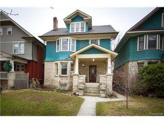 Photo 1: 32 Purcell Avenue in Winnipeg: Wolseley Residential for sale (5B)  : MLS®# 1706942