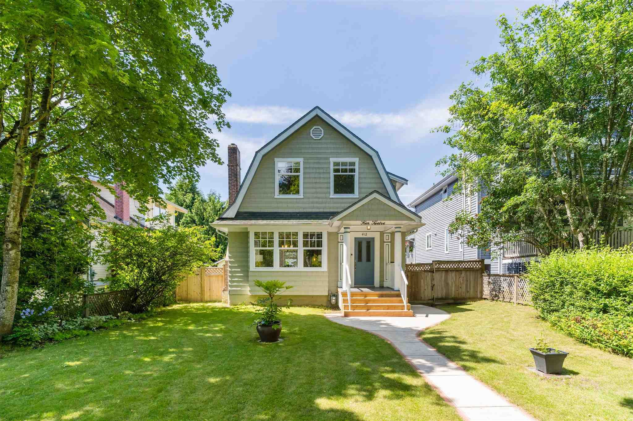 Photo 2: Photos: 412 FIFTH STREET in New Westminster: Queens Park House for sale : MLS®# R2594885