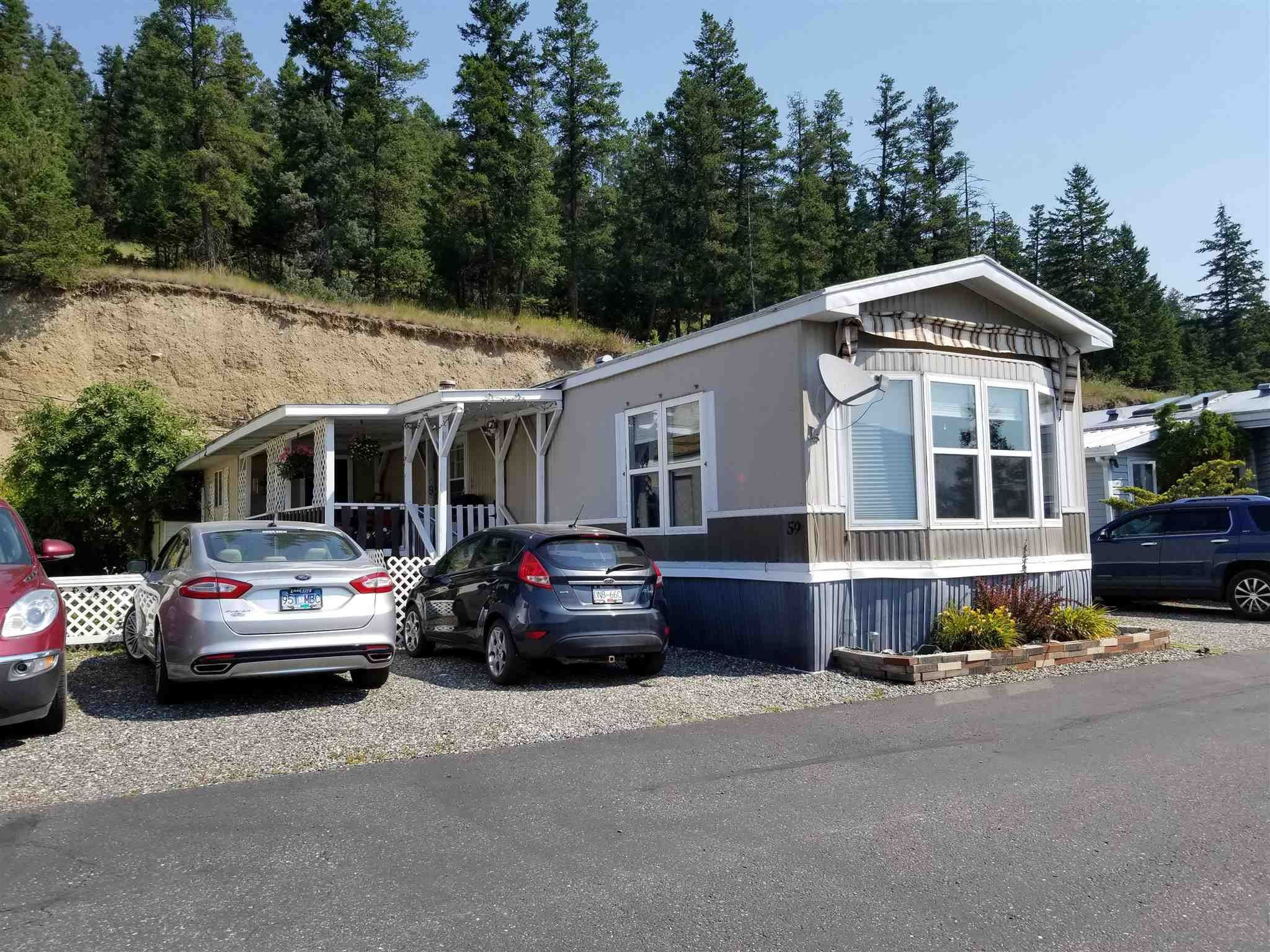 """Main Photo: 59 1700 S BROADWAY Avenue in Williams Lake: Williams Lake - City Manufactured Home for sale in """"NORTHSIDE VILLAGE"""" (Williams Lake (Zone 27))  : MLS®# R2600772"""