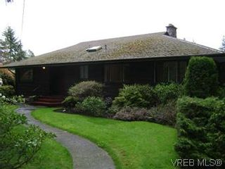 Photo 1: 2505 Arbutus Rd in VICTORIA: SE Cadboro Bay House for sale (Saanich East)  : MLS®# 568551