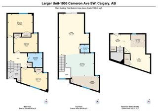 Photo 39: 1003 Cameron Avenue SW in Calgary: Lower Mount Royal 4 plex for sale : MLS®# A1088527