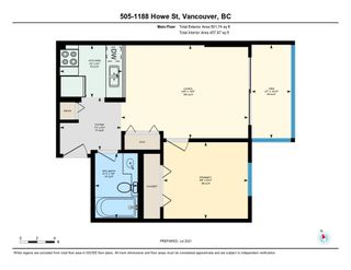 """Photo 13: 505 1188 HOWE Street in Vancouver: Downtown VW Condo for sale in """"1188 HOWE"""" (Vancouver West)  : MLS®# R2607018"""