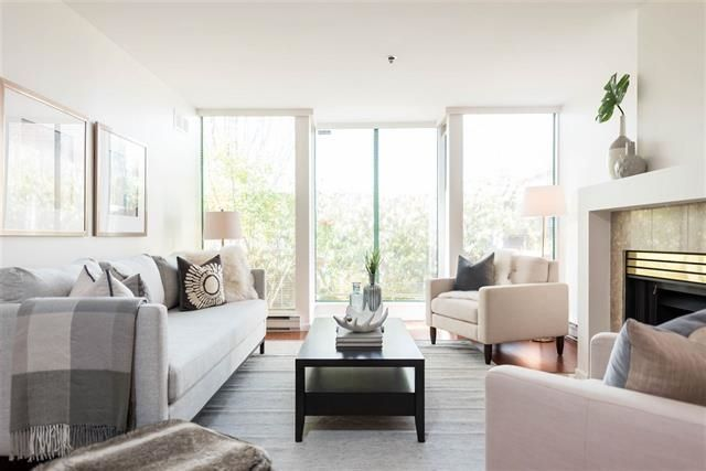 """Main Photo: 101 3120 PROMENADE Mews in Vancouver: Fairview VW Townhouse for sale in """"PACIFICA"""" (Vancouver West)  : MLS®# R2245446"""