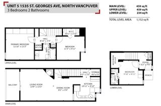 Photo 33: 5 1535 ST. GEORGES Avenue in North Vancouver: Central Lonsdale Townhouse for sale : MLS®# R2584897