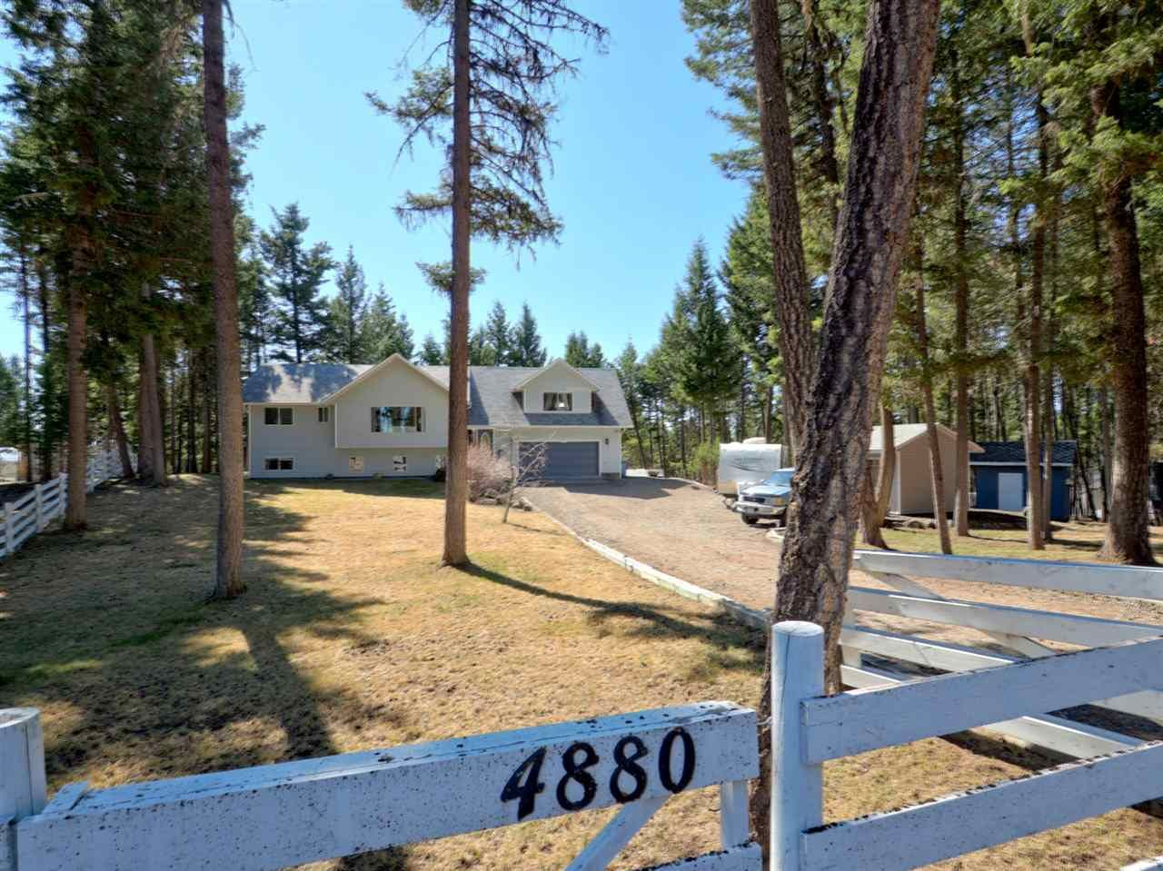Main Photo: 4880 WAWPUSS Place in 108 Mile Ranch: 108 Ranch House for sale (100 Mile House (Zone 10))  : MLS®# R2566834