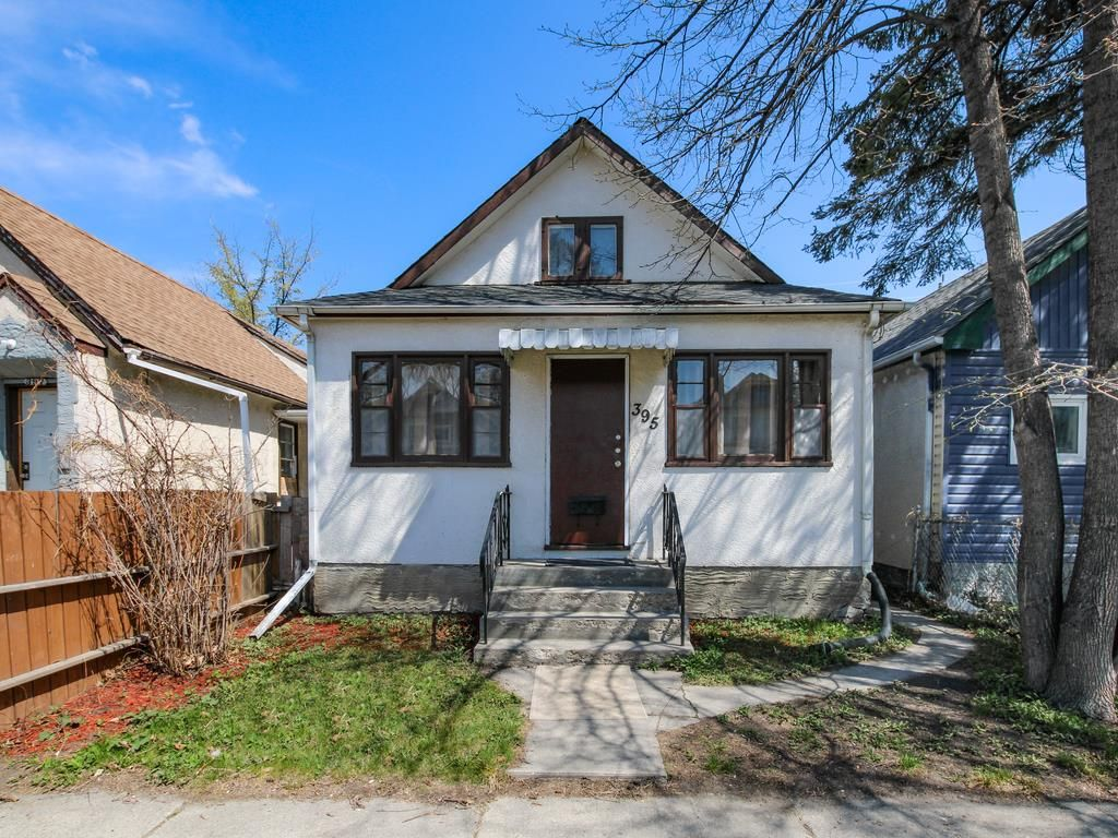 Main Photo: 395 Aberdeen Avenue in Winnipeg: North End Residential for sale (4A)  : MLS®# 202111707