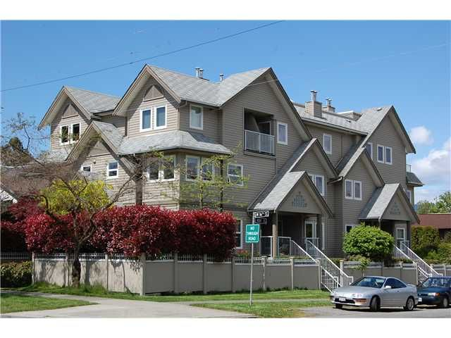 """Main Photo: 1 3189 ASH Street in Vancouver: Fairview VW Condo for sale in """"FAIRVIEW"""" (Vancouver West)  : MLS®# V828474"""