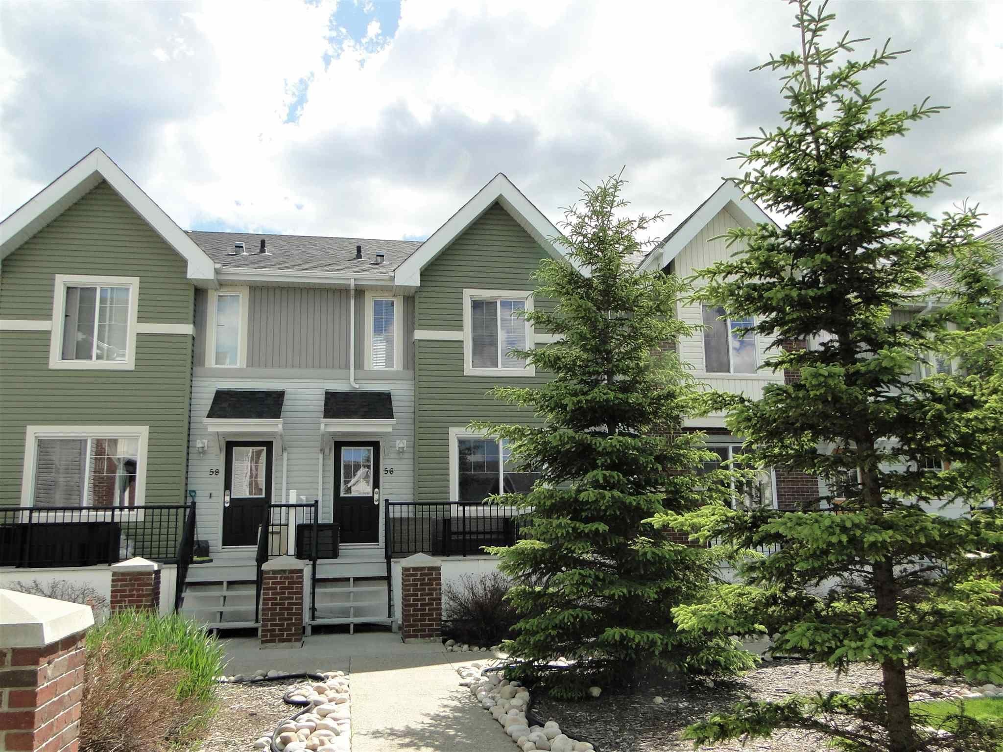 Main Photo: 56 2336 ASPEN Trail: Sherwood Park Townhouse for sale : MLS®# E4235721