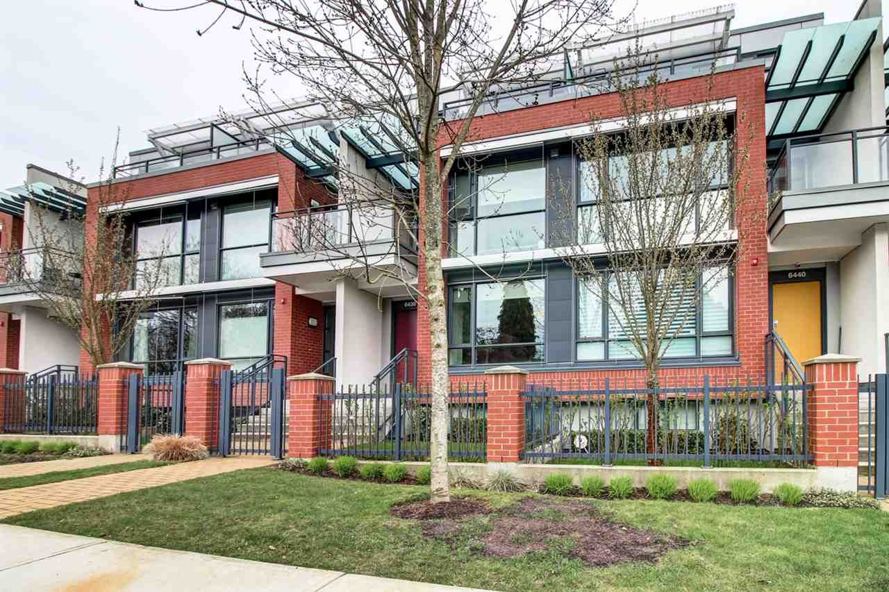 Main Photo: 6438 ASH Street in Vancouver: Oakridge VW Townhouse for sale (Vancouver West)  : MLS®# R2167257