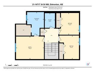 Photo 49: 21 14717 34 Street in Edmonton: Zone 35 House Half Duplex for sale : MLS®# E4234606