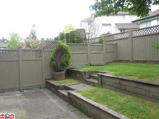 "Photo 10: 84 18221 68TH Avenue in Surrey: Cloverdale BC Townhouse for sale in ""Magnolia"" (Cloverdale)  : MLS®# F1112827"
