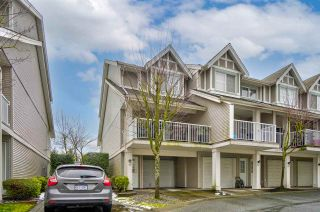 """Photo 1: 11 6555 192A Street in Surrey: Clayton Townhouse for sale in """"Carlisle"""" (Cloverdale)  : MLS®# R2533647"""
