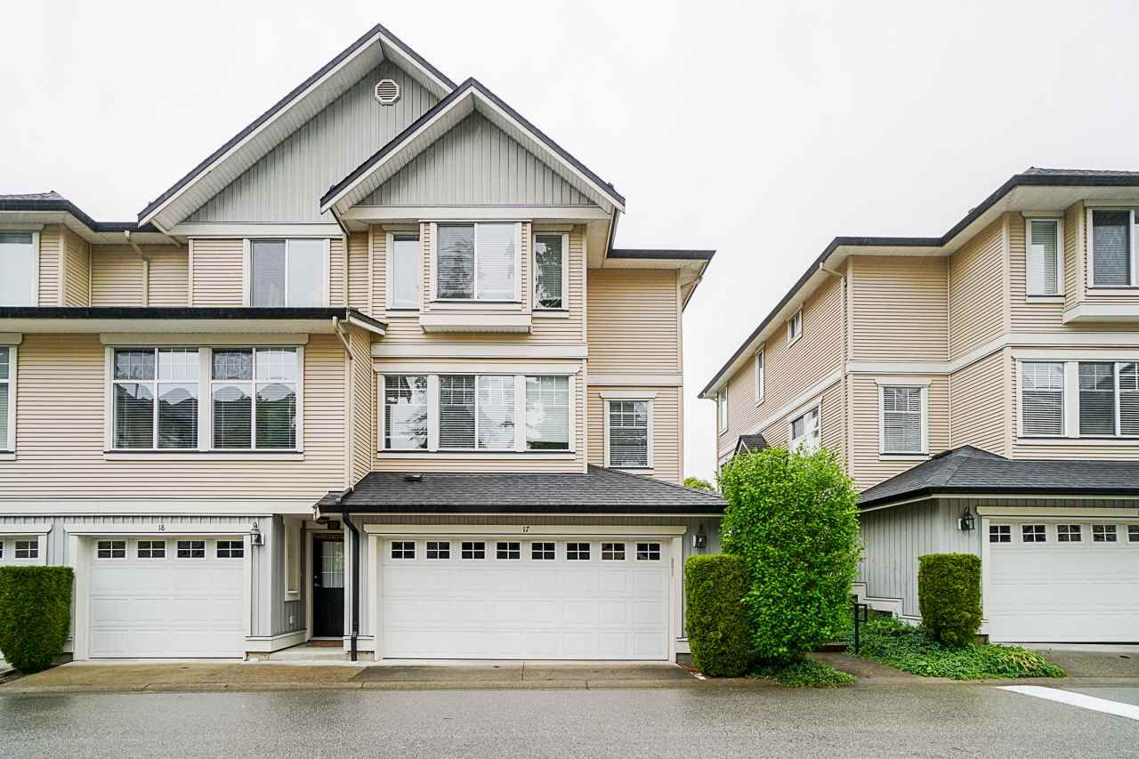 """Main Photo: 17 8383 159 Street in Surrey: Fleetwood Tynehead Townhouse for sale in """"Avalon Woods"""" : MLS®# R2468158"""
