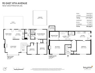 """Photo 2: 95 E EIGHTH Avenue in New Westminster: The Heights NW House for sale in """"Massey Heights"""" : MLS®# R2581458"""