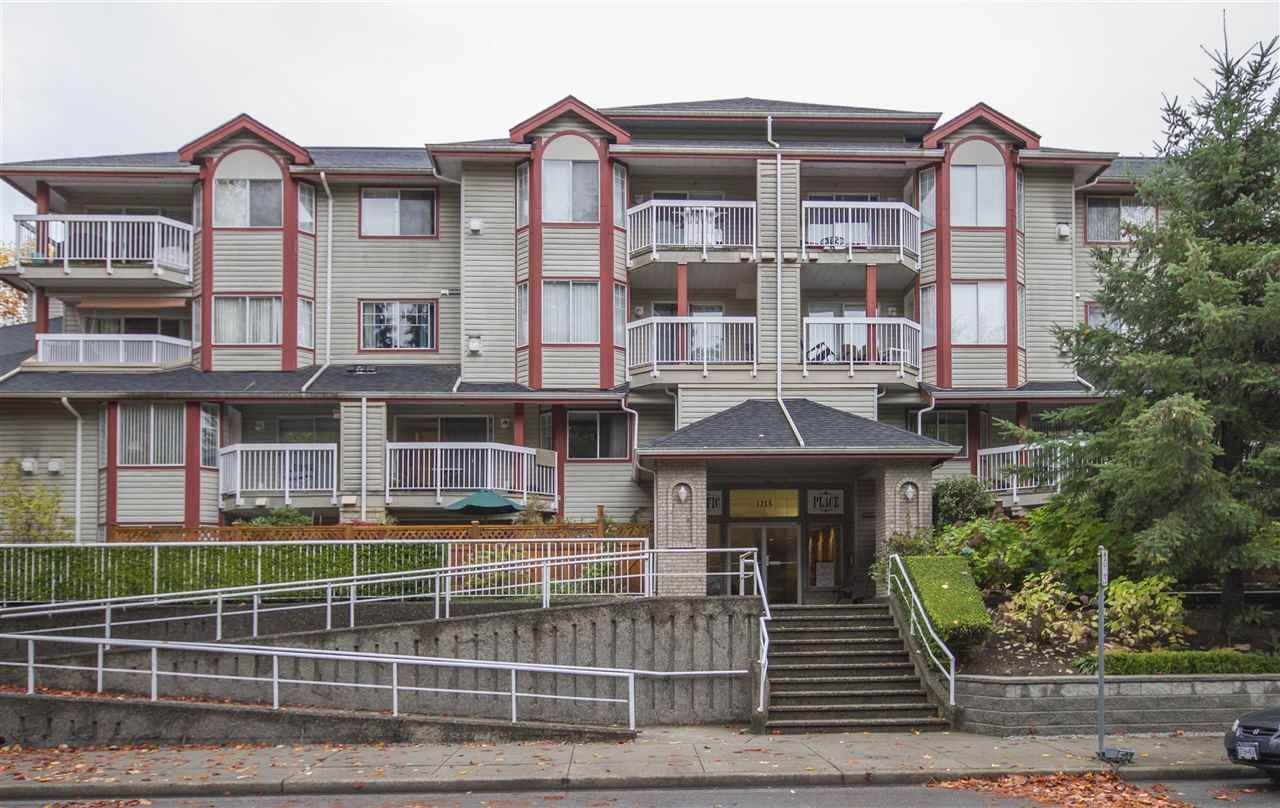 """Main Photo: 108 1215 PACIFIC Street in Coquitlam: North Coquitlam Condo for sale in """"PACIFIC PLACE"""" : MLS®# R2319128"""