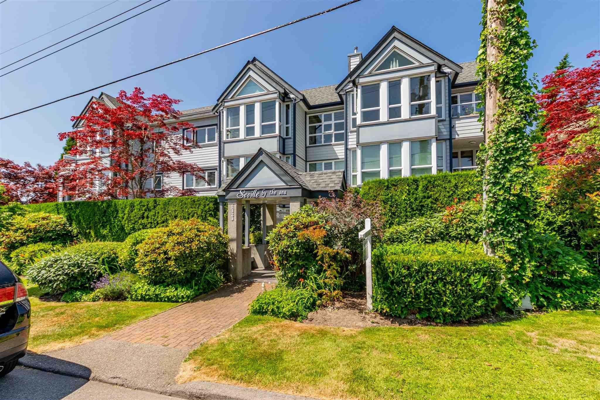"Main Photo: 301 1323 MERKLIN Street: White Rock Condo for sale in ""SEVILLE BY THE SEA"" (South Surrey White Rock)  : MLS®# R2602198"
