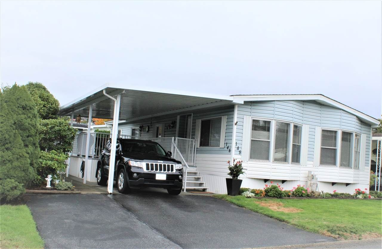 """Main Photo: 148 145 KING EDWARD Street in Coquitlam: Maillardville Manufactured Home for sale in """"MILL CREEK VILLAGE"""" : MLS®# R2509458"""