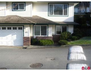 """Photo 1: 69 34250 HAZELWOOD Avenue in Abbotsford: Central Abbotsford Townhouse for sale in """"STILL CREEK"""" : MLS®# F2729628"""