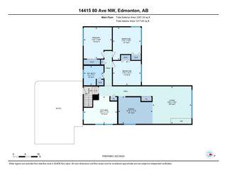 Photo 43: 14415 80 Avenue NW in Edmonton: Zone 10 House for sale : MLS®# E4264107