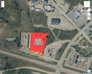 Photo 2: Hwy 16 Bypass Acreage in North Battleford: Riverview NB Commercial for sale : MLS®# SK861440