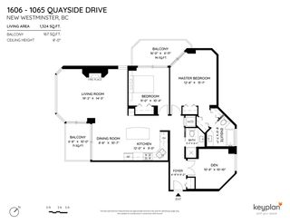 """Photo 38: 1606 1065 QUAYSIDE Drive in New Westminster: Quay Condo for sale in """"Quayside Tower II"""" : MLS®# R2539585"""
