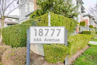 """Main Photo: 118 18777 68A Avenue in Surrey: Clayton Townhouse for sale in """"Compass"""" (Cloverdale)  : MLS®# R2553179"""
