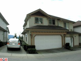 "Photo 1: 20 35287 OLD YALE Road in Abbotsford: Abbotsford East Townhouse for sale in ""THE FALLS"" : MLS®# F1007173"