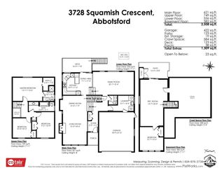Photo 35: 3728 SQUAMISH CRESCENT in Abbotsford: Central Abbotsford House for sale : MLS®# R2460054