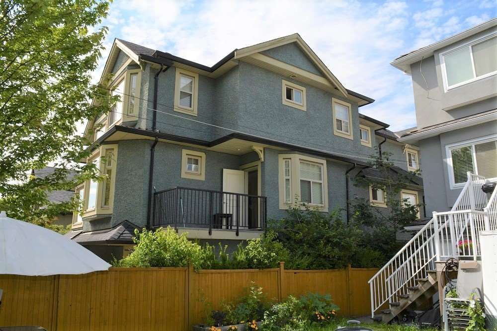 Main Photo: 2168 FRANKLIN STREET in Vancouver: Hastings Townhouse for sale (Vancouver East)  : MLS®# R2382704