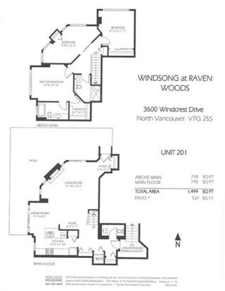 """Photo 19: 201 3600 WINDCREST Drive in North Vancouver: Roche Point Townhouse for sale in """"Windsong At Raven Woods"""" : MLS®# R2377804"""