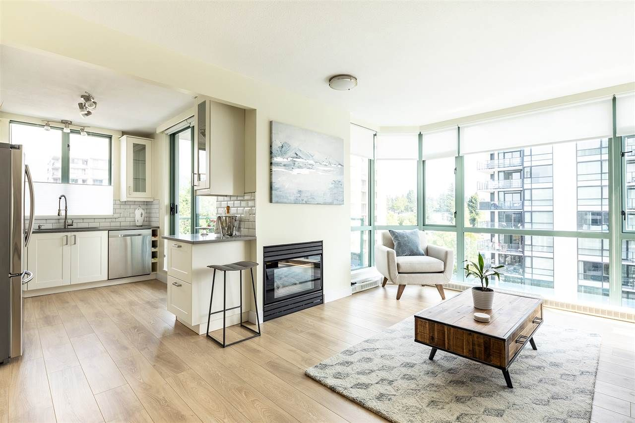 """Main Photo: 801 140 E 14TH Street in North Vancouver: Central Lonsdale Condo for sale in """"Springhill Place"""" : MLS®# R2444065"""