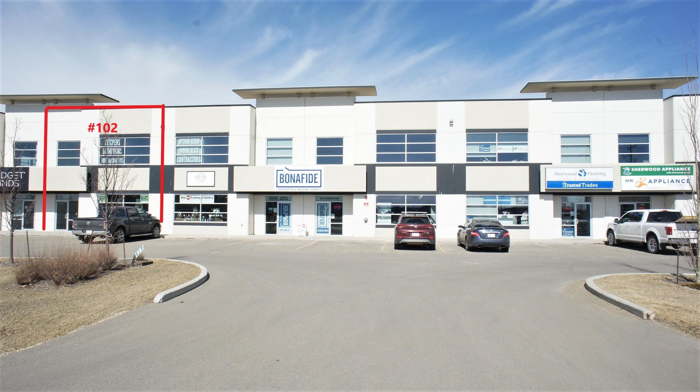 Main Photo: 102 108 PROVINCIAL Avenue: Sherwood Park Industrial for sale or lease : MLS®# E4260823