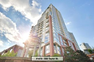 """Photo 1: 1610 550 TAYLOR Street in Vancouver: Downtown VW Condo for sale in """"The Taylor"""" (Vancouver West)  : MLS®# R2251836"""