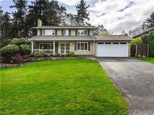 Main Photo: 2449 Sutton Rd in VICTORIA: SE Arbutus House for sale (Saanich East)  : MLS®# 727173
