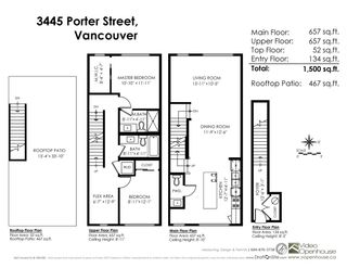 """Photo 20: 3445 PORTER Street in Vancouver: Victoria VE Townhouse for sale in """"MASON"""" (Vancouver East)  : MLS®# R2189526"""
