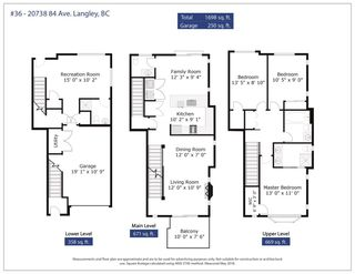 """Photo 3: 36 20738 84 Avenue in Langley: Willoughby Heights Townhouse for sale in """"Yorkson Creek"""" : MLS®# R2269911"""