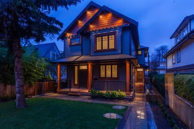 Main Photo: 1519 E 8th Avenue in Vancouver: Grandview Woodland 1/2 Duplex for sale (Vancouver East)