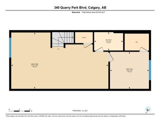 Photo 35: 340 Quarry Park Boulevard SE in Calgary: Douglasdale/Glen Row/Townhouse for sale : MLS®# A1123884
