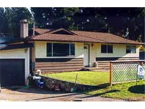 Main Photo: 550 Laren Rd in VICTORIA: Co Wishart North House for sale (Colwood)  : MLS®# 200005