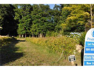 """Photo 1: LOT 6 BAY ROAD in Sechelt: Sechelt District Land for sale in """"DAVIS BAY"""" (Sunshine Coast)  : MLS®# V1073026"""