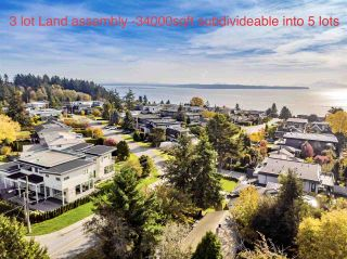 """Photo 1: 14376 NORTH BLUFF Road: White Rock House for sale in """"WEST WHITE ROCK"""" (South Surrey White Rock)  : MLS®# R2513653"""