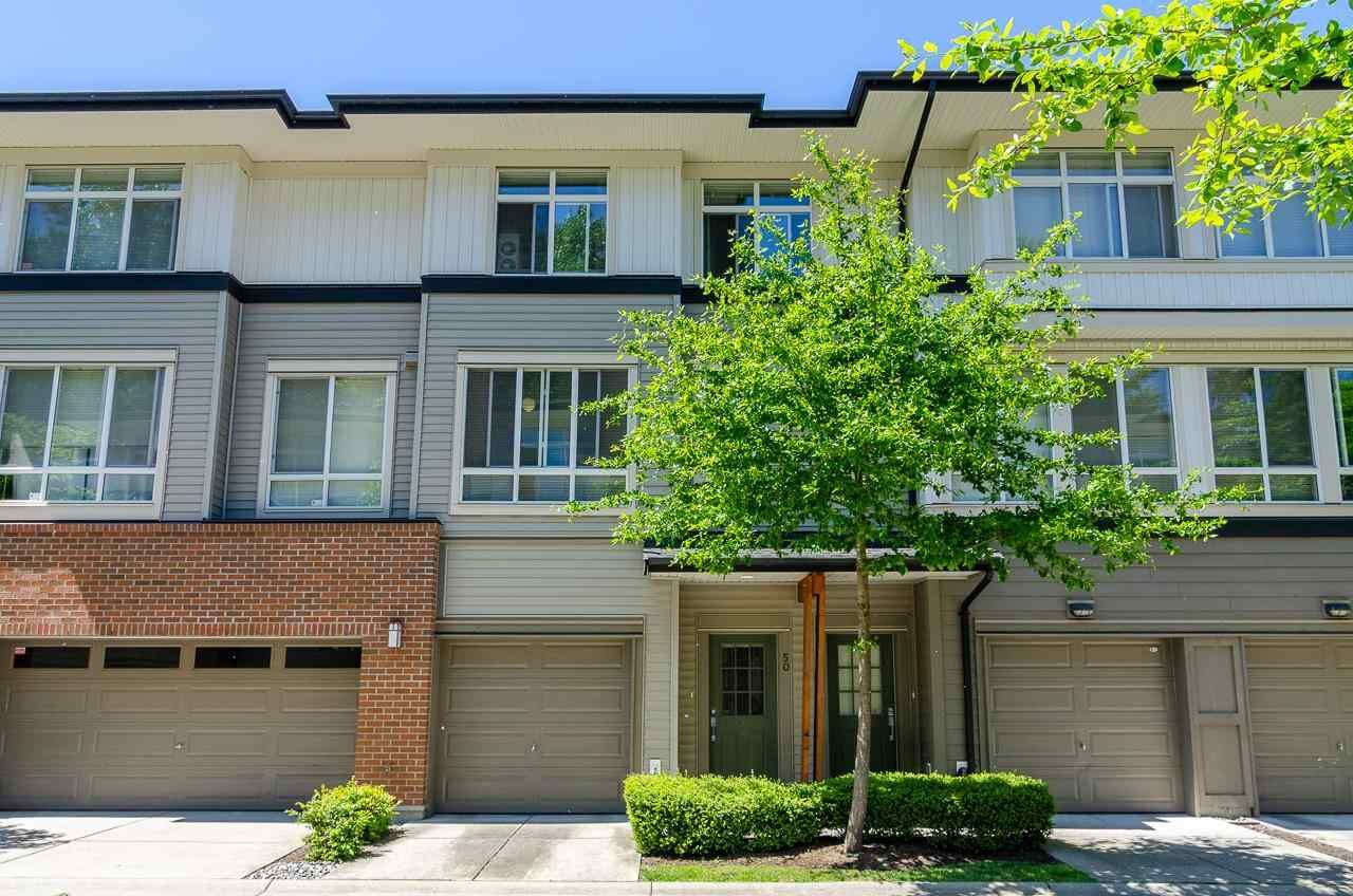 """Main Photo: 50 1125 KENSAL Place in Coquitlam: New Horizons Townhouse for sale in """"Kensal Walk"""" : MLS®# R2584496"""