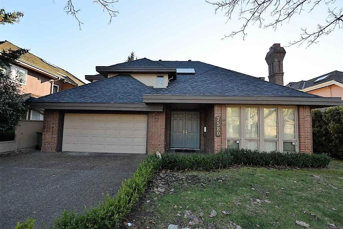 Main Photo: 7580 TWEEDSMUIR AVENUE in Richmond: Broadmoor House for sale ()  : MLS®# R2130354