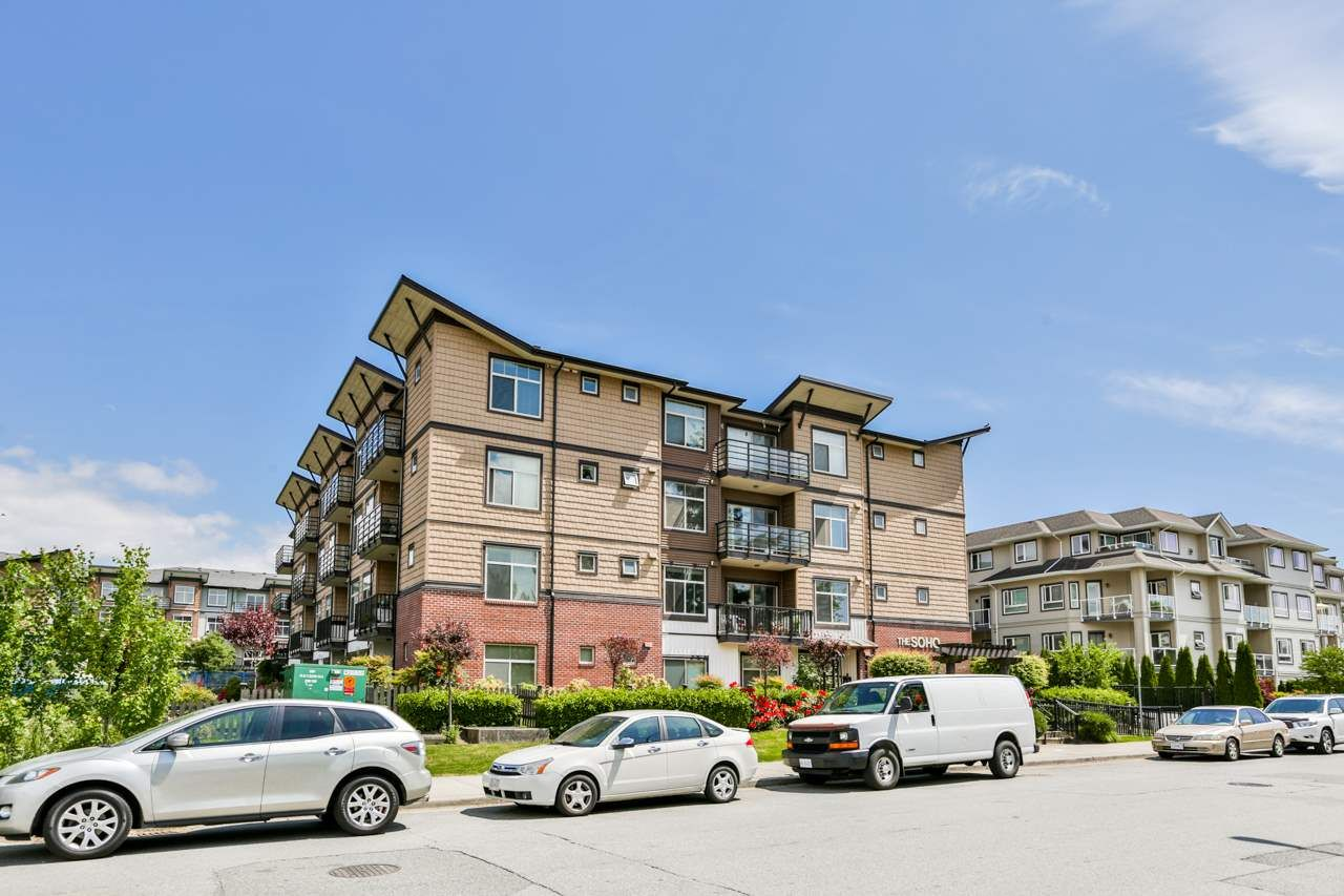 """Main Photo: 208 8168 120A Street in Surrey: Queen Mary Park Surrey Condo for sale in """"THE SOHO"""" : MLS®# R2270843"""