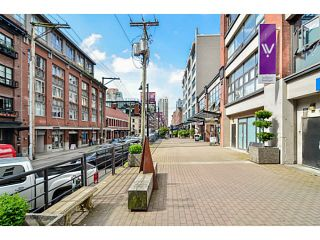 """Photo 16: 304 1072 HAMILTON Street in Vancouver: Yaletown Condo for sale in """"CRANDALL BUILDING"""" (Vancouver West)  : MLS®# V1064027"""